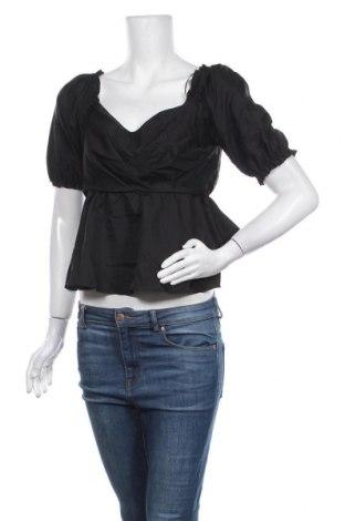 Γυναικεία μπλούζα River Island, Μέγεθος S, Χρώμα Μαύρο, Πολυεστέρας, Τιμή 22,81€