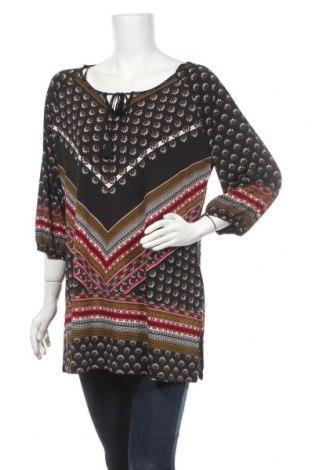Γυναικεία μπλούζα Rockmans, Μέγεθος XL, Χρώμα Μαύρο, Πολυεστέρας, ελαστάνη, Τιμή 25,33€