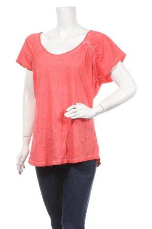 Γυναικεία μπλούζα Route 66, Μέγεθος XL, Χρώμα Ρόζ , Βαμβάκι, Τιμή 11,11€