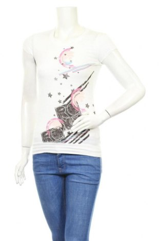 Дамска блуза Roxy, Размер S, Цвят Бял, 50% памук, 50% вискоза, Цена 16,10лв.