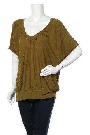 Дамска блуза Rw & Co., Размер XL, Цвят Зелен, Вискоза, Цена 15,96лв.