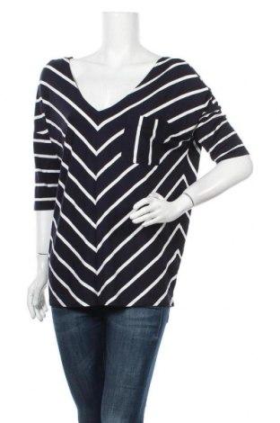 Дамска блуза Rw & Co., Размер L, Цвят Син, 95% вискоза, 5% еластан, Цена 18,90лв.