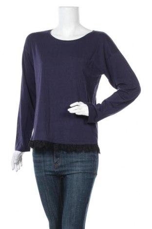 Γυναικεία μπλούζα SUN68, Μέγεθος L, Χρώμα Μπλέ, Βαμβάκι, Τιμή 9,25€