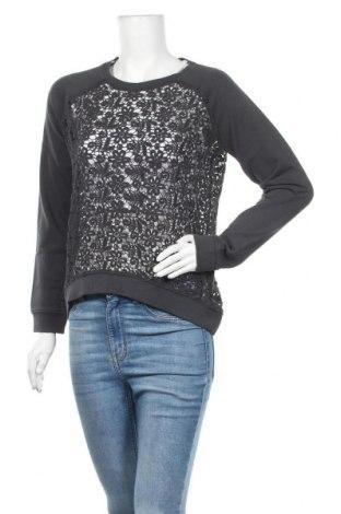 Γυναικεία μπλούζα SUN68, Μέγεθος M, Χρώμα Γκρί, Βαμβάκι, Τιμή 11,93€
