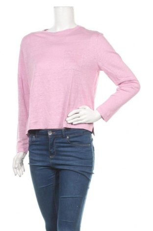 Γυναικεία μπλούζα SUN68, Μέγεθος L, Χρώμα Βιολετί, Λινό, Τιμή 28,45€