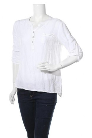 Дамска блуза Sandro Ferrone, Размер M, Цвят Бял, Вискоза, Цена 31,92лв.