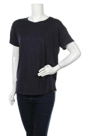 Γυναικεία μπλούζα Seed, Μέγεθος L, Χρώμα Μπλέ, 89% βισκόζη, 11% λινό, Τιμή 6,62€