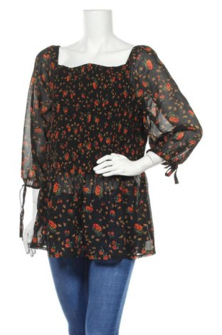 Дамска блуза Simply Be, Размер XXL, Цвят Многоцветен, Полиестер, Цена 18,95лв.