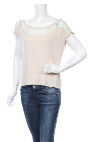 Γυναικεία μπλούζα Sisley, Μέγεθος M, Χρώμα  Μπέζ, Τιμή 9,74€