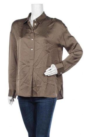 Дамска блуза Someday., Размер S, Цвят Зелен, Вискоза, Цена 10,68лв.