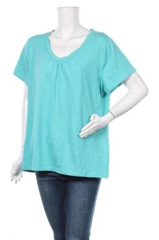 Γυναικεία μπλούζα Sonoma, Μέγεθος XL, Χρώμα Μπλέ, 58% βαμβάκι, 38% πολυεστέρας, 4% ελαστάνη, Τιμή 11,69€