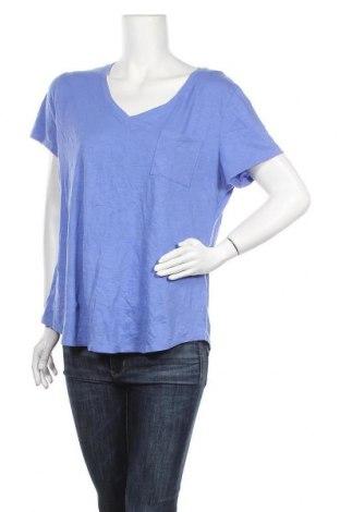 Γυναικεία μπλούζα Sonoma, Μέγεθος XXL, Χρώμα Μπλέ, 60% βαμβάκι, 40% πολυεστέρας, Τιμή 9,09€