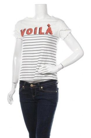 Γυναικεία μπλούζα Springfield, Μέγεθος L, Χρώμα Λευκό, Βαμβάκι, Τιμή 13,07€