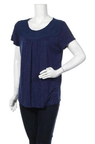 Γυναικεία μπλούζα St. John's Bay, Μέγεθος L, Χρώμα Μπλέ, 97% βαμβάκι, 3% ελαστάνη, Τιμή 8,77€