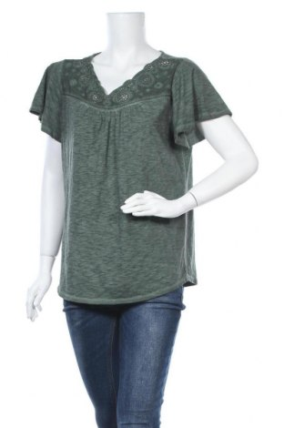 Γυναικεία μπλούζα St. John's Bay, Μέγεθος L, Χρώμα Πράσινο, 60% βαμβάκι, 40% πολυεστέρας, Τιμή 8,64€