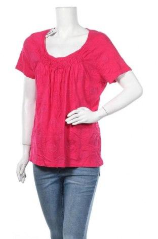 Γυναικεία μπλούζα St. John's Bay, Μέγεθος XL, Χρώμα Ρόζ , 60% βαμβάκι, 40% μοντάλ, Τιμή 9,35€
