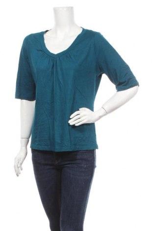 Γυναικεία μπλούζα St. John's Bay, Μέγεθος L, Χρώμα Πράσινο, 60% βαμβάκι, 40% μοντάλ, Τιμή 10,49€