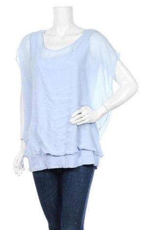Дамска блуза Street One, Размер XL, Цвят Син, Полиестер, Цена 18,90лв.