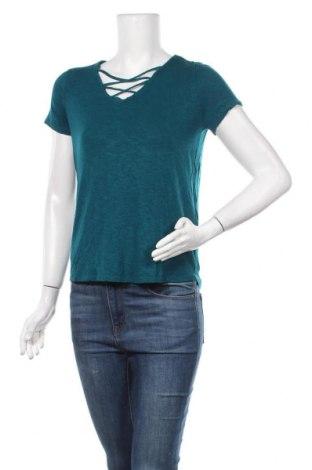 Дамска блуза Street One, Размер XS, Цвят Зелен, 95% вискоза, 5% еластан, Цена 16,96лв.
