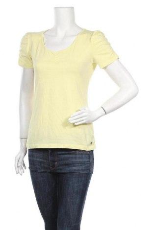 Дамска блуза Street One, Размер L, Цвят Жълт, 95% памук, 5% еластан, Цена 13,97лв.