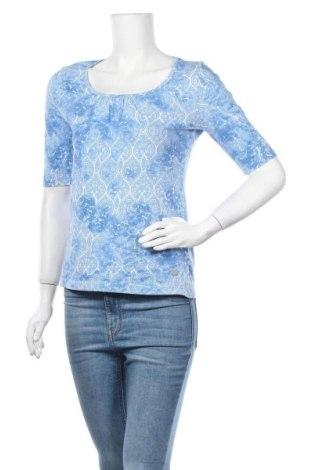 Дамска блуза Street One, Размер S, Цвят Син, Памук, Цена 15,75лв.