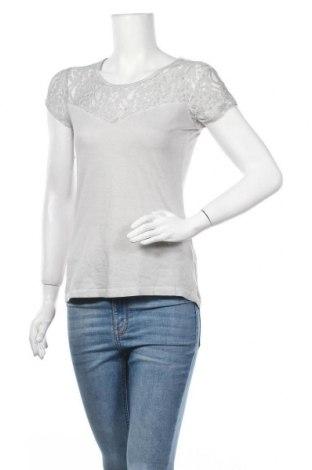 Дамска блуза Sublevel, Размер S, Цвят Сив, 51% памук, 49% вискоза, Цена 18,90лв.