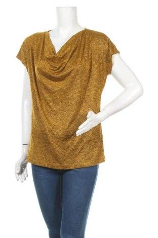 Γυναικεία μπλούζα Suzanne Grae, Μέγεθος L, Χρώμα Κίτρινο, Βισκόζη, πολυεστέρας, Τιμή 10,39€