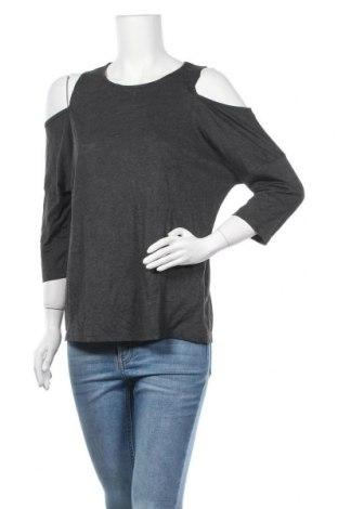 Γυναικεία μπλούζα Suzy Shier, Μέγεθος L, Χρώμα Γκρί, 80% πολυεστέρας, 20% βισκόζη, Τιμή 10,13€