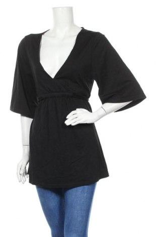 Γυναικεία μπλούζα TCM, Μέγεθος L, Χρώμα Μαύρο, 50% βαμβάκι, 50% μοντάλ, Τιμή 9,35€