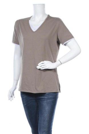 Γυναικεία μπλούζα TCM, Μέγεθος XL, Χρώμα  Μπέζ, 92% πολυαμίδη, 8% ελαστάνη, Τιμή 3,38€