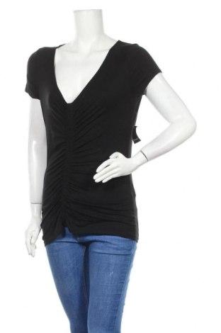 Дамска блуза Tahari, Размер M, Цвят Черен, 95% модал, 5% еластан, Цена 33,18лв.