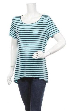 Дамска блуза Tahari, Размер XL, Цвят Син, 95% модал, 5% еластан, Цена 27,41лв.