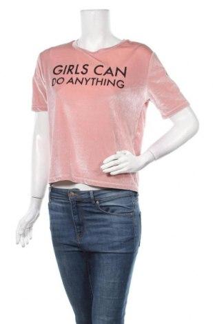 Γυναικεία μπλούζα Tally Weijl, Μέγεθος S, Χρώμα Ρόζ , 92% πολυεστέρας, 8% ελαστάνη, Τιμή 11,69€