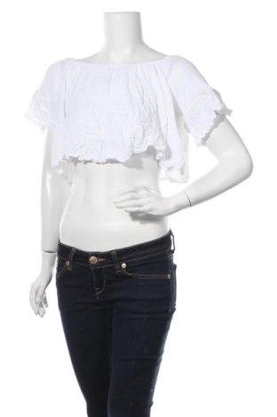 Γυναικεία μπλούζα Tally Weijl, Μέγεθος S, Χρώμα Λευκό, Βισκόζη, Τιμή 11,69€
