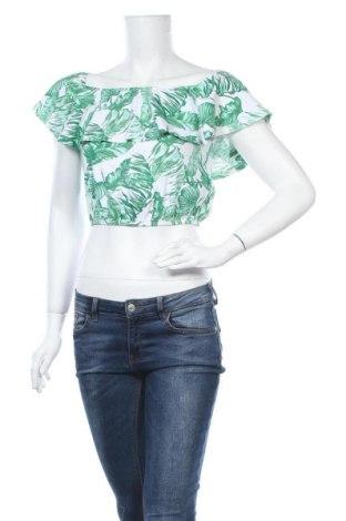 Γυναικεία μπλούζα Tally Weijl, Μέγεθος S, Χρώμα Πράσινο, 96% βαμβάκι, 4% ελαστάνη, Τιμή 9,25€
