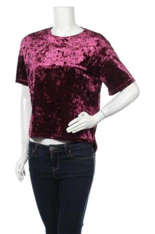 Γυναικεία μπλούζα Tally Weijl, Μέγεθος XS, Χρώμα Βιολετί, 93% πολυεστέρας, 7% ελαστάνη, Τιμή 9,87€