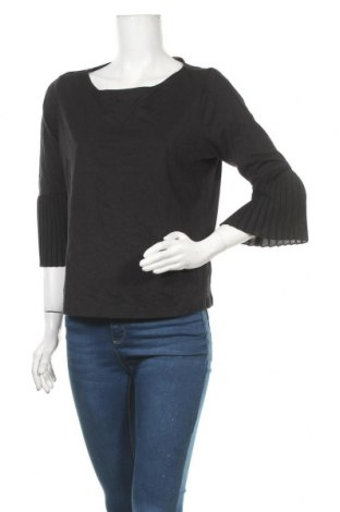 Γυναικεία μπλούζα Tchibo, Μέγεθος M, Χρώμα Μαύρο, Βαμβάκι, μοντάλ, πολυεστέρας, Τιμή 10,49€