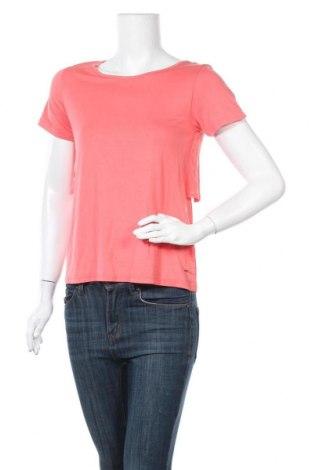 Дамска блуза Teddy Smith, Размер XS, Цвят Розов, 95% модал, 5% еластан, Цена 9,75лв.