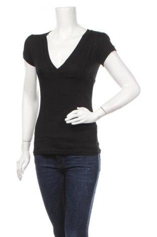Γυναικεία μπλούζα Terranova, Μέγεθος M, Χρώμα Μαύρο, Βαμβάκι, Τιμή 7,40€