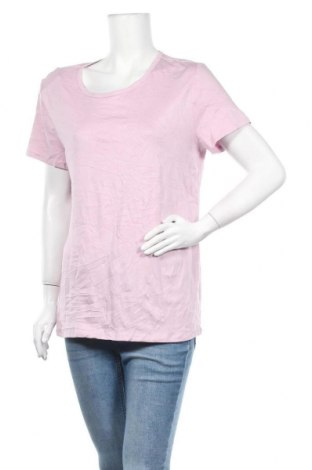 Γυναικεία μπλούζα Time and tru, Μέγεθος XL, Χρώμα Βιολετί, 58% βαμβάκι, 39% μοντάλ, 3% ελαστάνη, Τιμή 8,64€