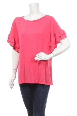 Γυναικεία μπλούζα Time and tru, Μέγεθος XL, Χρώμα Ρόζ , 71% μοντάλ, 29% πολυεστέρας, Τιμή 10,39€