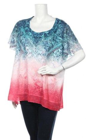Γυναικεία μπλούζα Time and tru, Μέγεθος XXL, Χρώμα Πολύχρωμο, Πολυεστέρας, Τιμή 11,69€