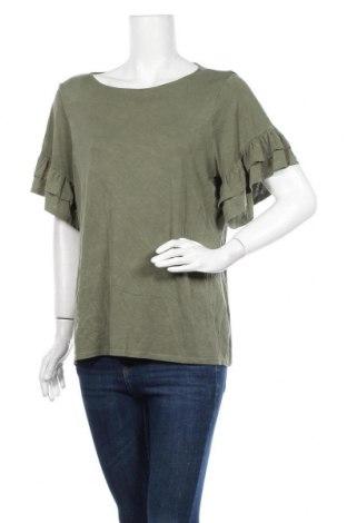 Γυναικεία μπλούζα Time and tru, Μέγεθος L, Χρώμα Πράσινο, 71% μοντάλ, 29% πολυεστέρας, Τιμή 11,69€