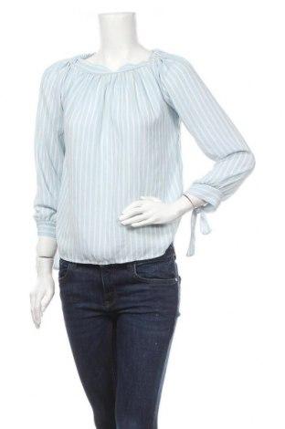 Дамска блуза Today, Размер M, Цвят Син, 95% полиестер, 5% еластан, Цена 19,95лв.