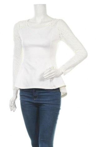 Дамска блуза Today, Размер S, Цвят Бял, 95% полиестер, 5% еластан, Цена 18,90лв.
