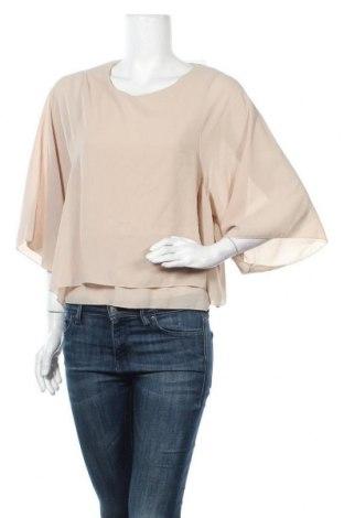 Дамска блуза Today, Размер S, Цвят Бежов, 60% полиестер, 40% вискоза, Цена 16,07лв.
