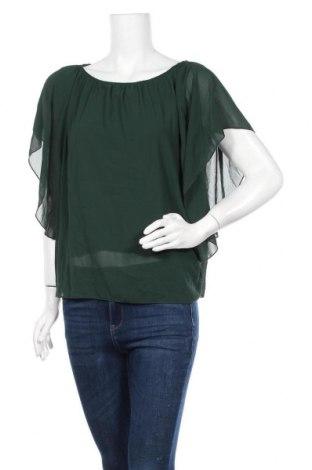 Γυναικεία μπλούζα Today, Μέγεθος S, Χρώμα Πράσινο, Πολυεστέρας, Τιμή 9,94€