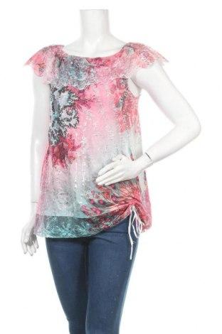 Γυναικεία μπλούζα Tredy, Μέγεθος M, Χρώμα Πολύχρωμο, 95% πολυαμίδη, 5% ελαστάνη, Τιμή 9,94€