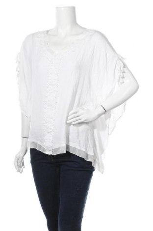 Γυναικεία μπλούζα Tredy, Μέγεθος XL, Χρώμα Λευκό, Τιμή 10,52€