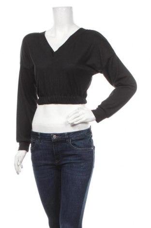 Γυναικεία μπλούζα Trendyol, Μέγεθος XS, Χρώμα Μαύρο, 95% πολυεστέρας, 5% ελαστάνη, Τιμή 9,84€